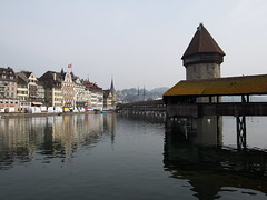 Chapel bridge of Luzern!