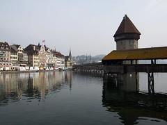 Chapel bridge of Luzern!