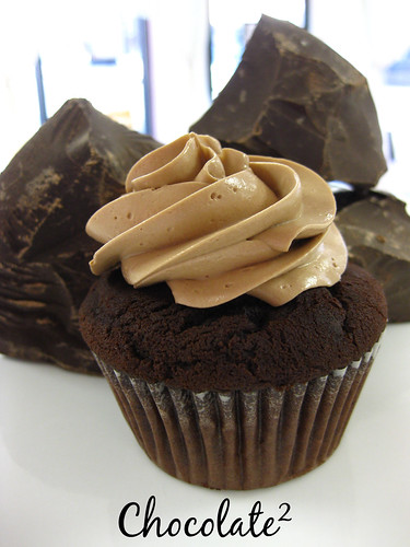 Chocolated Cupcake