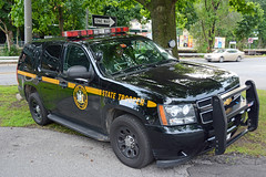 Picture Of New York State Trooper Car (3K49) - 2013 Chevrolet Tahoe. This Car 3K49 Is From Troop K In Hawthorne, New York. Photo Taken Thursday July 3, 2014 (ses7) Tags: new york trooper car state