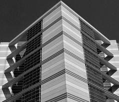 Chrome and Glass (Sherpa 52) Tags: sky blackandwhite glass architecture nikon cities