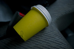 The drive home coffee (Intrinsic-Image) Tags: coffee car work drive seat australian australia drivehome darius intrinsicimage