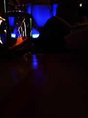 A Light Show.. (RahulChandra23) Tags: light india apple bar night delhi famous lofi newdelhi northindia iphone5s