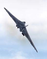 Vulcan (Bernie Condon) Tags: avro vulcan xh558 bomber raf military jet warplane vintage preserved vtts aviation aircraft plane flying airshow display farnborough fi2014