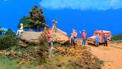 ARRIGORRIAGA ENCUENTRO DE MODULOS Y GRAN MAQUETA MODULAR (Jesus Maria Mediavilla) Tags: paisaje personas montaa miniatura maqueta