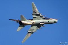 Poland Air Force --- Sukhoi Su-22M4 --- 9616 (Drinu C) Tags: plane aircraft military sony dsc ffd fairford riat sukhoi su22 9616 polishairforce theroyalinternationalairtattoo egva polandairforce hx100v adrianciliaphotography