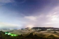 二寮日出 Sunrise, Erliao|台南 (speedbug) Tags: fog sunrise star 台南 starry clound starrynight seaofclouds 日出 二寮 erliao
