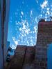 The blue sky - le ciel bleu (A.B.S Graph) Tags: maroc morocco bleu oudaya oudaia rabat medina kasbah doors door gnaoui gnawi legnawi art style ciel sky ruelle rue street sale salé rbat cat lazy