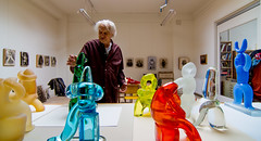 _DSC6999 (durr-architect) Tags: jan snoeck sculptor visit atelier painting sculpture carpet art indoor colourful blue red yellow green museum janvandertogt togt amstelveen exhibition opening vernissage glass works
