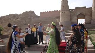 Alexander The Great meet with similar dances in Tajikistan