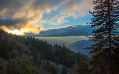 Sunrise in the Smokies (Jon Ariel) Tags: sunrise greatsmokymountainsnationalpark greatsmokymountains northcarolina nc smokymountains smoky