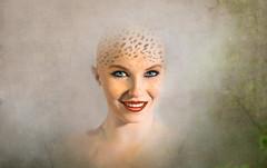 Leopard Girl (Pete Foley) Tags: model beauty leopard bodypaint bald photoshop littlestories picswithsoul