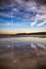 Cada Paso (Every Step) (Dibus y Deabus) Tags: gijon asturias españa spain playa beach playadesanlorenzo amanecer dawn cielo sky nubes clouds canon 6d tamron