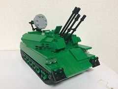 ZSU-23-4 Shilka (kou20) Tags: soviet lego weapon russia legomilitary