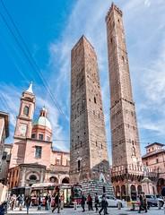 Asinelli e Garisenda - Bologna (Vanni Lazzari - VL) Tags: bologna garisenda asinelli torri
