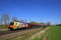 "1116 153 ""ÖAMTC"" (139 310) Tags: öbb baureihe österreich evu zugnummer p rj kbs101 kbs rj642 1116153 1116 personenzug railjet taurus westbahn wels oberösterreich at"