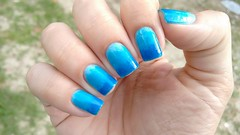 Desafio de Verão - 4. Mar ou Piscina (Roberta_Rezende) Tags: colorama anita dote risque azul degrade desafiodeverao