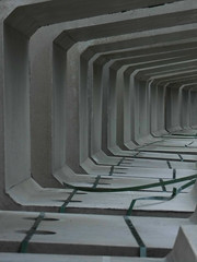 Cavern (Ed Sax) Tags: kaverne beton concrete modul bauteil erdbau construction architecture architektur gebäude grau grey repetition wiederholung wieder dystopie dystopic