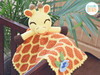 Rusty the Giraffe Crochet Security Blanket Pattern by IraRott (Ira Rott) Tags: crochetblanket securityblanket lovey girffepattern crochetgiraffe stuffie amigurumi baby toy handmade babyshowergift