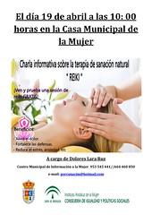Cartel Reiki (M. Jalón) Tags: cartel reiki taller manualidades centro mujer porcuna ayuntamiento