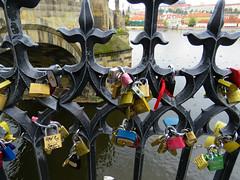 Charles Bridge love locks (2 of 2) (jimsawthat) Tags: locks love lovelocks tradition bridge charlesbridge urban prague czechrepublic
