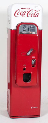 Vendo 44 10 Cent Coca-Cola Drink Machine ($3,360.00)