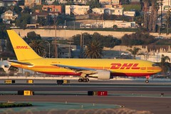DHL (So Cal Metro) Tags: cargo courier freight freighter dhl atlas atlasair 767 n657gt airline airliner airplane aircraft plane jet aviation airport san sandiego lindberghfield