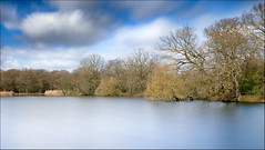 Connaught Water Long Exposure (Les Cornwell Photos) Tags: connaughtwater longexposure 2017 eppingforest epping 10stopper lake