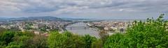 Hires Budapest Panorama (Michael Schönborn) Tags: panoramic stitch hires highdetail panorama budapest hungary ungarn city landscape cityscape nx500 nx1650mmf3556powerzoom donau