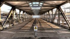 Brücke 7 (petra.foto busy busy busy) Tags: hamburg hansestadt hafen landungsbrücken architektur brücke fotopetra canon 5dmarkiii elbe flus schiffsanleger