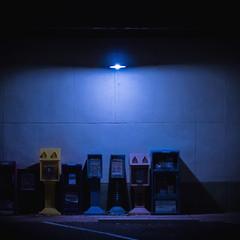 Newspapers (JJWphotography) Tags: glow night lights glowing nightlife newspapers grunge indie