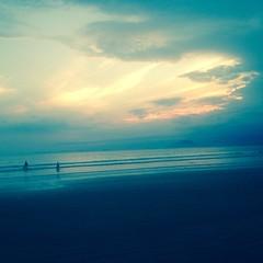 Brazilian beach in Sao Paulo state (DanFogarty76) Tags: brazil beach nature peace shore sand twilight blue