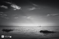 Keep calm and love black and white (Miguel Angel Lillo Fotografía) Tags: aguilas murcia mar mediterráneo mediterranean sea seascape clouds cloudscape españa spain barco boat nikon d7200 tamron 1750mm28 migueangellillofotografia picoftheday