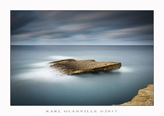 Firm (Explored!!) (glank27) Tags: delimara taqtiegha long exposure karl glanville canon eos 70d efs 1585mm f3556 hoya nd400 ngc seascape landscape photography silky smooth water mediterranean rock nature skies clouds movement malta haida