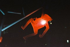 Monkey Light (goodfella2459) Tags: nikon f4 af nikkor 50mm f14d lens cinestill 800t 35mm c41 film analog colour george street sydney monkeylights monkey light city streets night milf