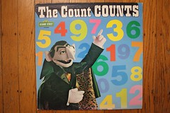 The Count Counts (Sesame St. Records 1975) (Donald Deveau) Tags: sesamestreet record lp tvshow thecount vampire muppets jimhenson