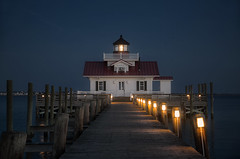 Sudden Radiance Of Light (karenhunnicutt) Tags: manteolighthouse manteo northcarolina night atlanticocean outerbanks karenhunnicuttphotographycom karenhunnicutt fineartphotographer