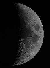 Our close neighbour (ukmjk) Tags: moon night dark nikon d500 registax pipp microsoft ice staffordshire stoke astro astronomy eq6