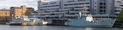 SNMCMG1 April 15th 2017 (10 of 11) (johnlinford) Tags: a433 auxiliary canarywharf docklands emlwambola hnlmsschiedam hnomshinnøy london londondocklands m343 m860 military minesweeper nato navy snmcmg1 ship southquay standingnatominecountermeasuregroup1 vessle