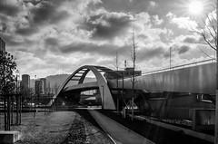 Gleisgobenbrücke Zürich Kreis 5 (albisserl) Tags: cantonzurich railwaybridge zürich switzerland kreis5 bridge zürichwest gleisbogenbrücke schweiz che