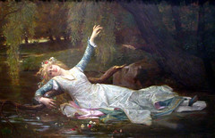 Ophelia by Alexandre Cabanel - for Jade 💜 (Dolldiva67) Tags: hamlet shakespeare painting alexandrecabanel ophelia preraphaelite