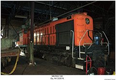 NN RS3 109 (Robert W. Thomson) Tags: nn nevada northernalcodiesellocomotivers3traintrainstrain engine railroad railway ely