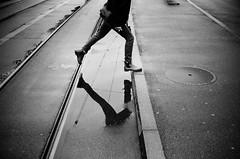 a step (gato-gato-gato) Tags: 35mm ch contax contaxt2 iso400 ilford ls600 noritsu noritsuls600 schweiz strasse street streetphotographer streetphotography streettogs suisse svizzera switzerland t2 zueri zuerich zurigo z¸rich analog analogphotography believeinfilm film filmisnotdead filmphotography flickr gatogatogato gatogatogatoch homedeveloped pointandshoot streetphoto streetpic tobiasgaulkech wwwgatogatogatoch zürich black white schwarz weiss bw blanco negro monochrom monochrome blanc noir strase onthestreets mensch person human pedestrian fussgänger fusgänger passant sviss zwitserland isviçre zurich autofocus