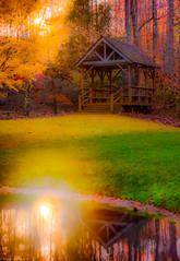 FairyTale - Garden (bhanuprakashneelaiahgari) Tags: falls autumn colors atlanta usa america smokymountains cabin garden water reflections picnic nature landscapes naturephotography