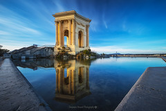 Life in Blue @Le Peyrou (Benjamin MOUROT) Tags: benjaminmourot canon 7dmkii 7d 7dmarkii 1022mm photoshopcs6 lightroom6 nature view pov poselongue longexposure retardateur lente filtre nd1000 nd110 montpellier hérault languedocroussillon france francia faguo french architecture monument geotaged leefilter nisifilter bigstopper