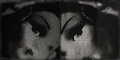 Clon(ed)-9961 (Poetic Medium) Tags: moldiv dollparts toy stilllife blackandwhite snapseed blender doll ipod diptych