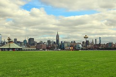 View From Pier A Hoboken NJ (pmarella) Tags: pmarella riverviewpkproductions hudsonriver onthewaterfront icoverthewaterfront hoboken empirestatebuilding manhattan architecture
