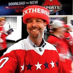 #RockTheRed (jsmjr) Tags: instagramapp square squareformat iphoneography uploaded:by=instagram ludwig jsmjr capitals hockey nhl playoffs