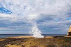 Bicheno Blowhole (lemien) Tags: rocks shore sea bicheno tasmania australia au blowhole