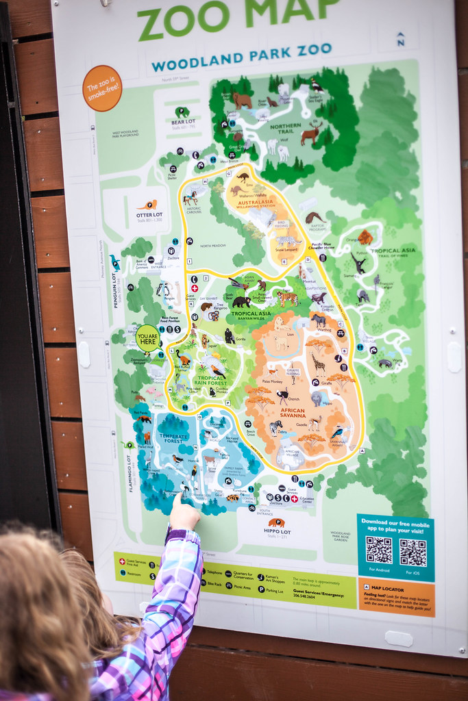 Seattle Zoo Map